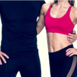 Man and woman with fat free core thanks to CoolSculpting